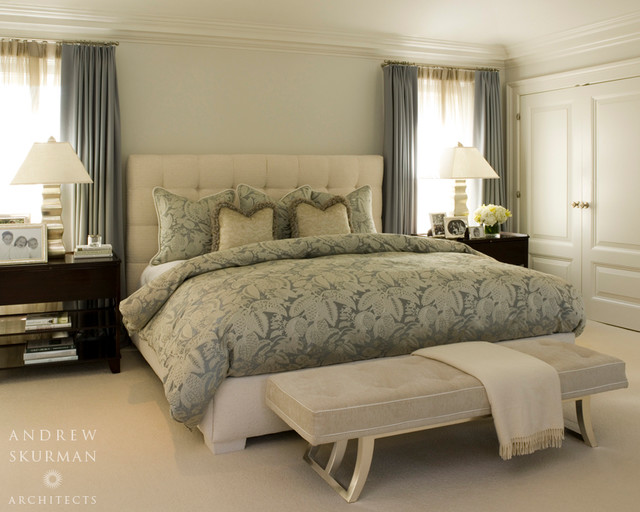 An american country house traditional bedroom san for American bedrooms