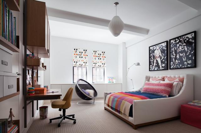 Park Ave NY, NY contemporary-bedroom