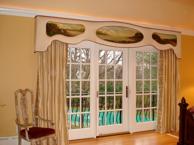 An Elegant Custom Cornice Board Window Treatment