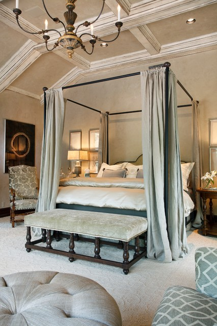 An Italian Villa For The Modern Couple Wichita Kansas Traditional Bedroom Wichita By