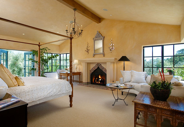 Andalusian Custom Home Traditional Bedroom other