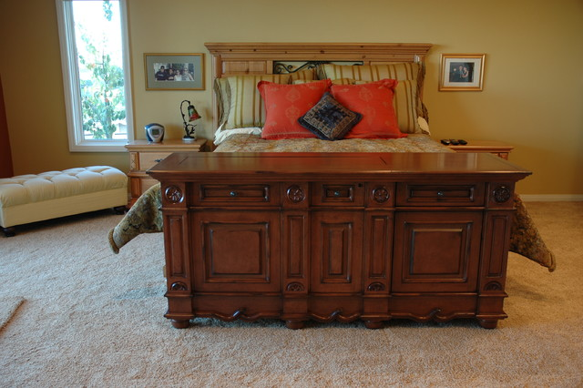 andaluz foot of bed tv lift cabinet with swivel traditional bedroom other metro by tv. Black Bedroom Furniture Sets. Home Design Ideas