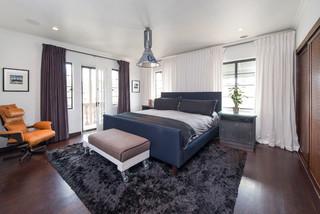 Andy Berman Residence コンテンポラリー-寝室
