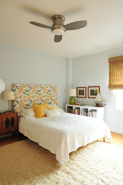 Annie Elliott's Color Splashed Home in DC eclectic-bedroom