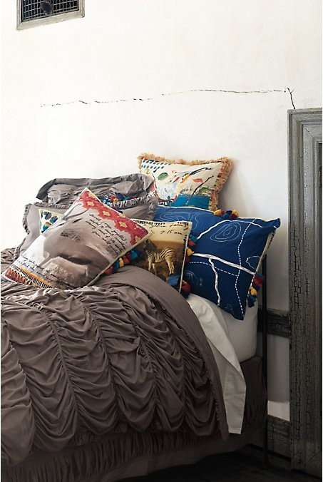 Anthropologie Home eclectic bedroom