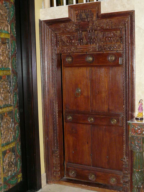 Antique Door For Bedroom Asian Bedroom Other Metro