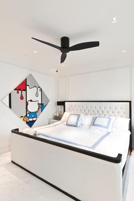 Apartment at The Esta - Singapore contemporary-bedroom