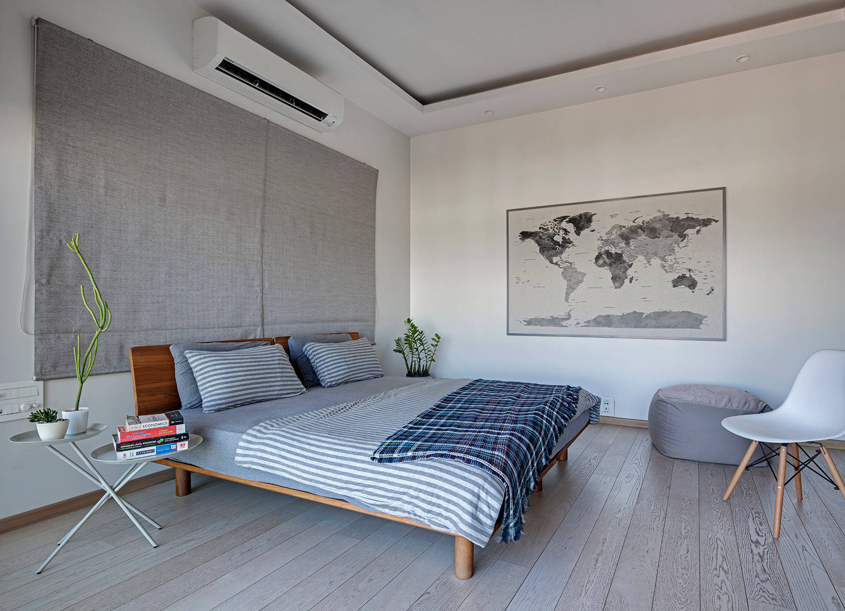 Gray and White Bedrooms  Houzz