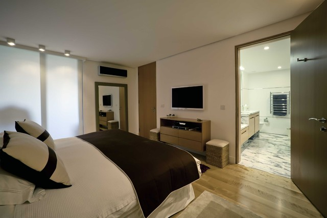 Apartment in Ulus contemporary-bedroom