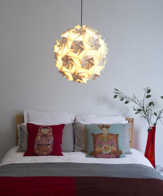 Aperture Pendant Shade contemporary-bedroom