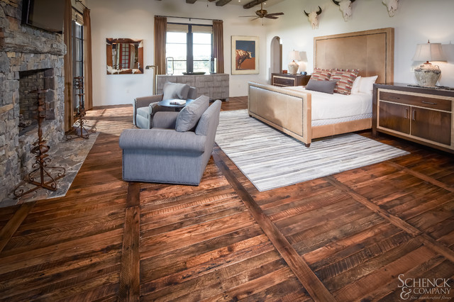 Appealing Pallets - Traditional - Bedroom - houston - by Schenck and Company