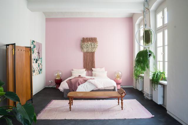 Pareti Rosa Camera Da Letto : Aptm berlin scandinavo camera da letto berlino di pamono gmbh