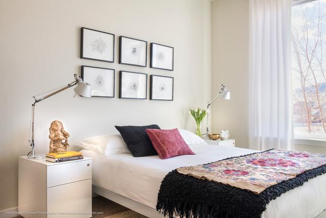 Aquarelle Condo / Interior Design contemporary-bedroom