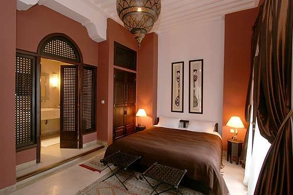 arabic style mediterranean bedroom