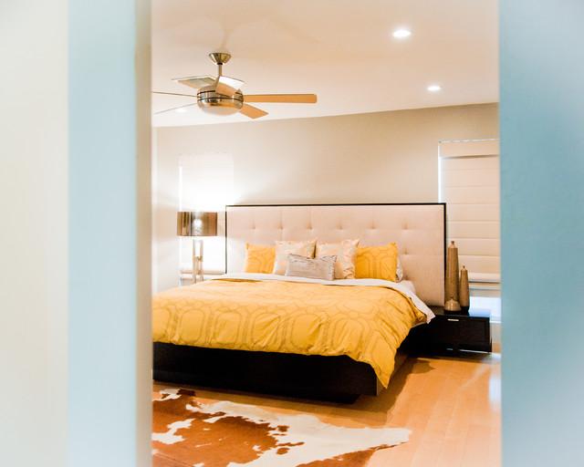 Glenrosa Retro Modern Bedroom Phoenix By Red Egg