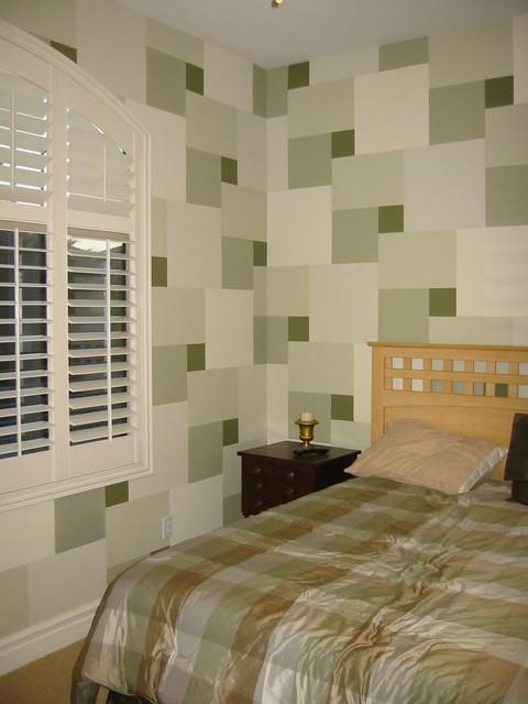 Arcadian Shores eclectic-bedroom