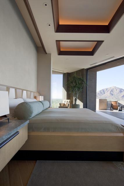 Architect: Jon C Bernhard contemporary-bedroom