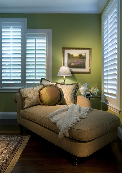curtains, shades and shutters are all great tools for keeping cool