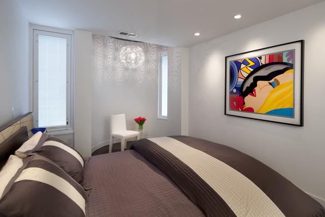architectural design/build firm, Anthony Wilder Design/Build, transforms condo bedroom