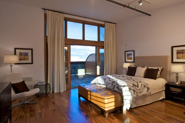 Architecture and Interior Design contemporary-bedroom