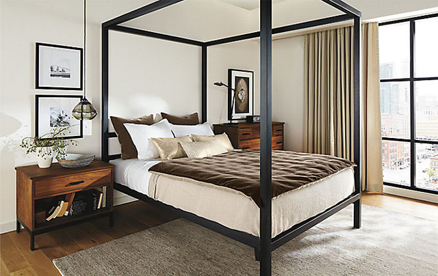 Architecture Bed by R&B Modern Bedroom other metro
