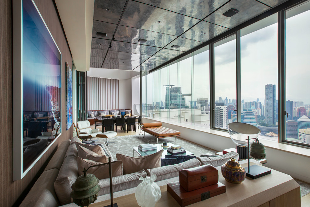 Ardmore Penthouse Bedroom Singapore By Brewin Design Office