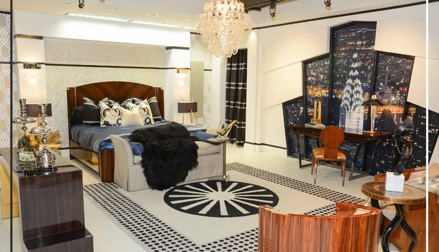 Art Deco Master Bedroom for DCOTA\'s International Market ...