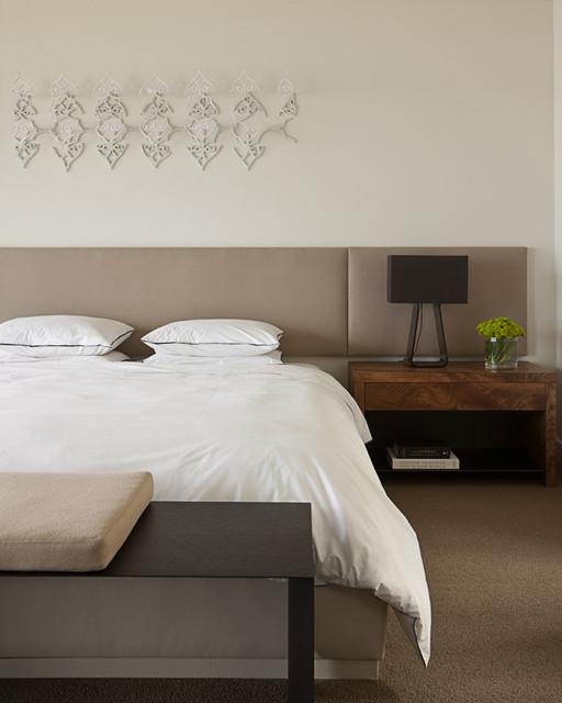 Art House master bedroom modern-bedroom