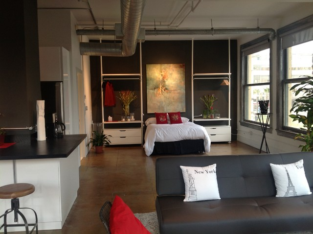 Art In Situ Industrial Bedroom San Francisco By