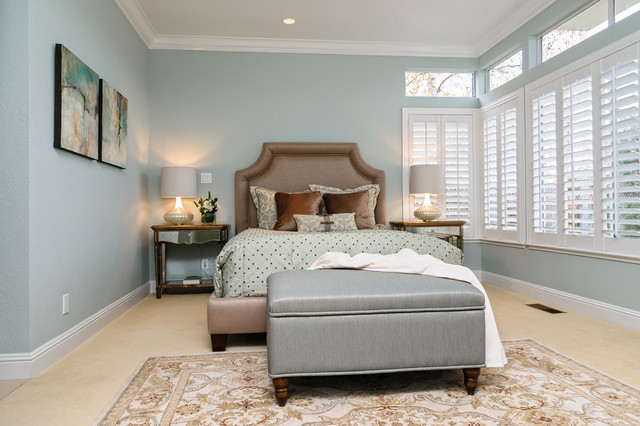 Art In Situ Transitional Bedroom San Francisco By