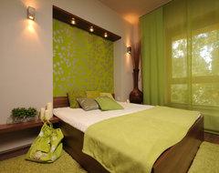 Art&deco contemporary-bedroom