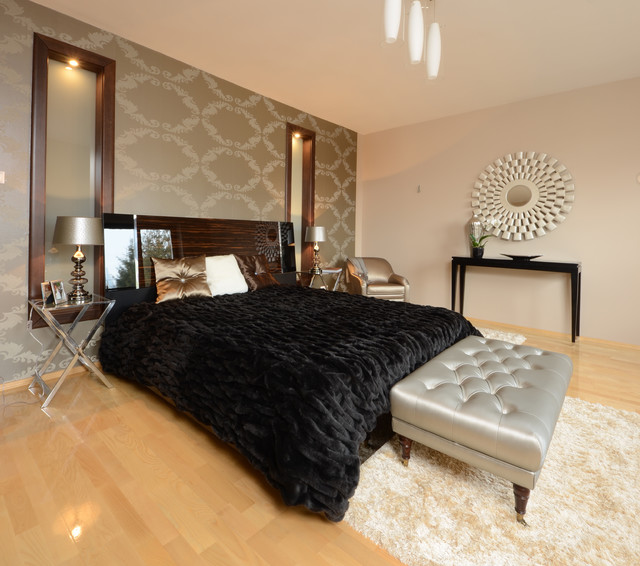 Art&deco contemporary-bedroom