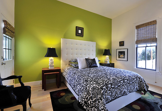 Artfully Arranged contemporary-bedroom