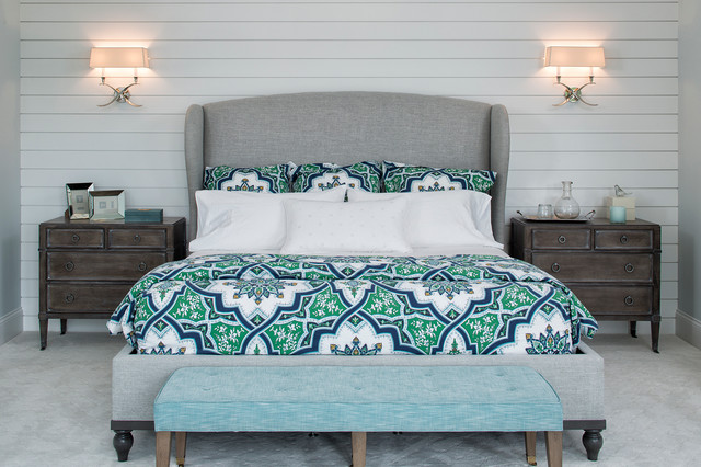 Artisan Tour Home 2016 Beach Style Bedroom