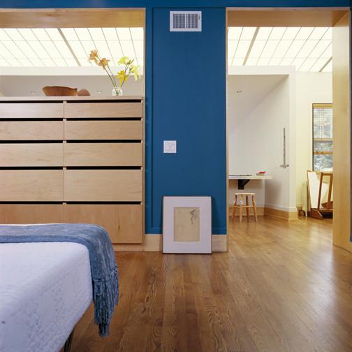 Artist Studio modern-bedroom