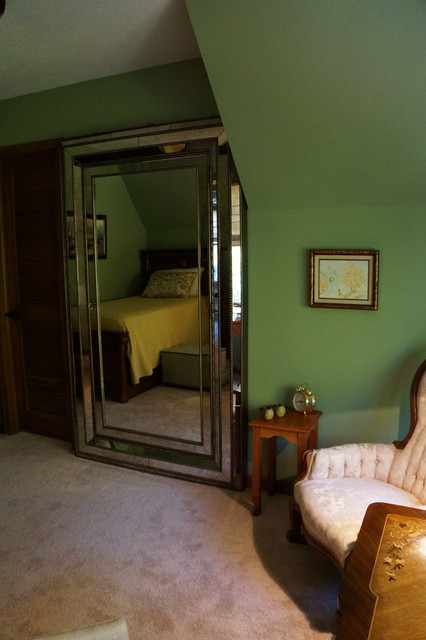 Example of an arts and crafts bedroom design in Indianapolis