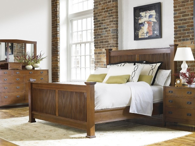 bedrom craftsman bedroom other metro by stickley furniture
