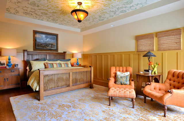 Arts and crafts cordillera ranch for Arts and crafts bedroom