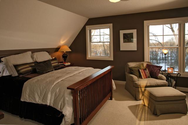 Arts & Crafts Master Bedroom - Craftsman - Bedroom ...