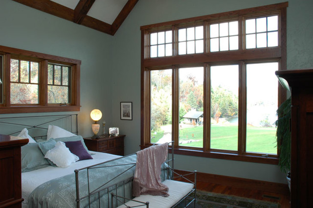 arts and crafts style craftsman bedroom