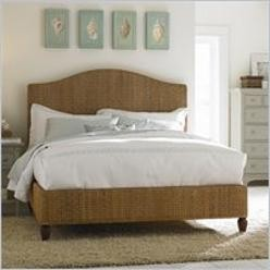 Ashby Park Banana Leaf Woven Panel Bed - Eclectic - Bedroom - by Sears
