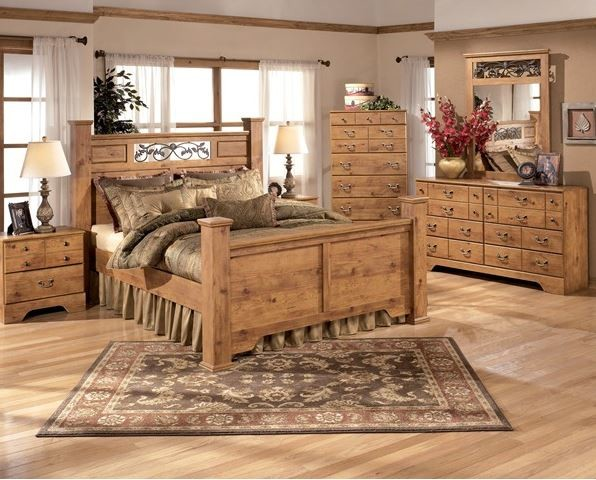 Ashley Bittersweet Queen Bedroom Set Traditional Bedroom Phoenix By A