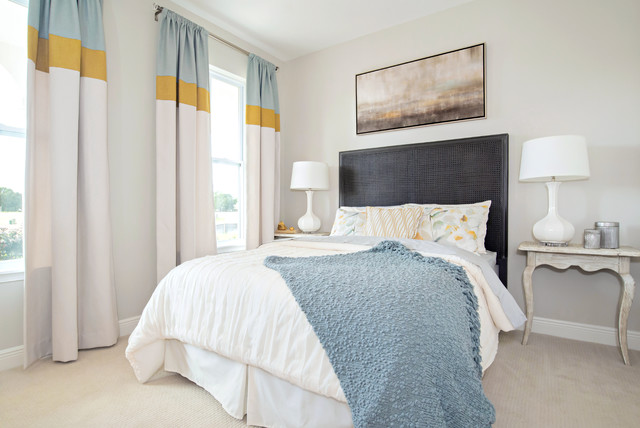 Ashton Woods Model Home Beach Style Bedroom Orlando By Anne