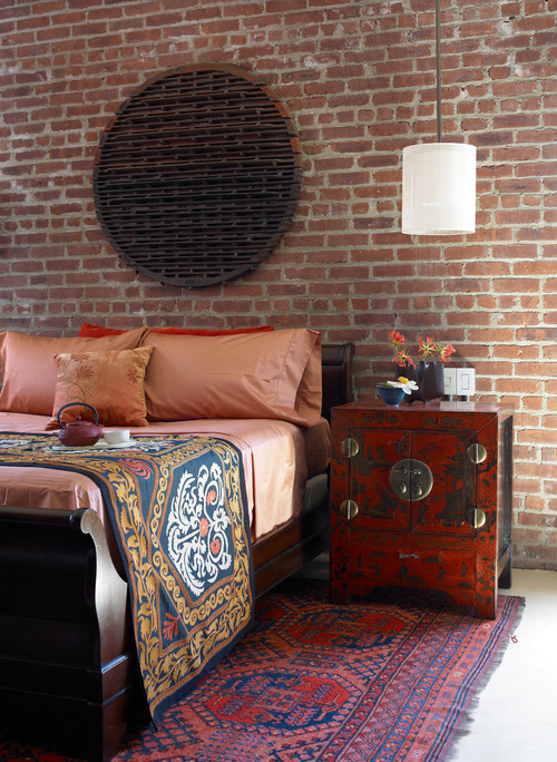 West Chelsea Loft asian bedroom