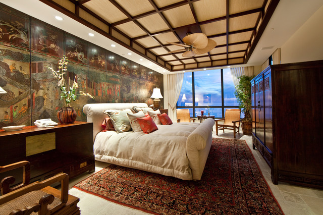 Glenn Johnson asian bedroom