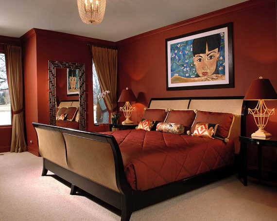Asian contemporary asian bedroom chicago by for Modern asian bedroom