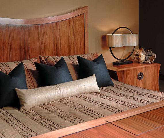 Asian Contemporary asian-bedroom