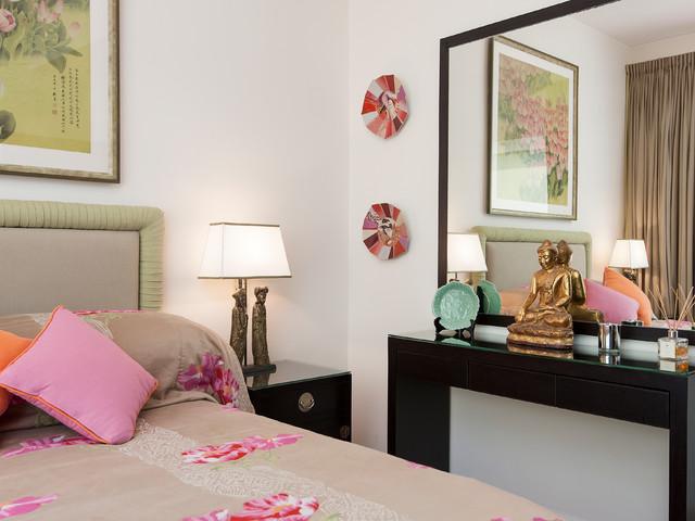 asian inspired condo asian bedroom hong kong by ryan fung