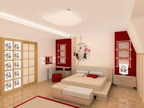Asian style bedroom - Japanese inspired bedroom ...