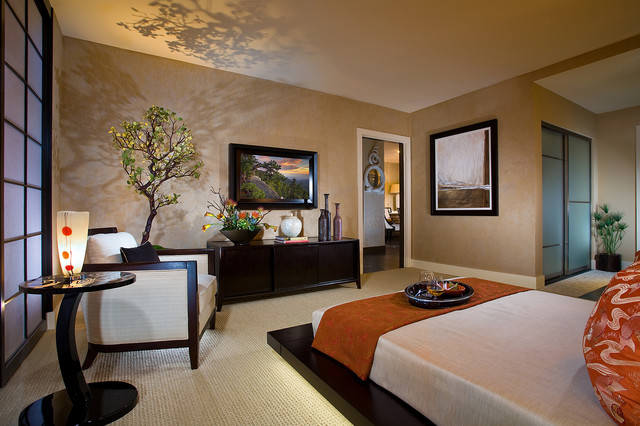 Astoria Master Bedroom - asian - bedroom - orange county - by